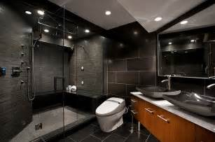 black tile bathroom ideas 20 exquisite bathrooms that unleash the beauty of black