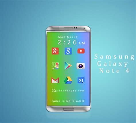 galaxy note ii concept phones samsung galaxy note 4 versus nexus 6 battle of the concepts concept phones