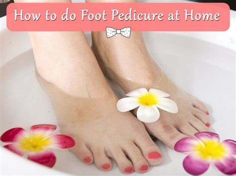 Steps To A Great Home Pedicure by How To Do Foot Pedicure At Home Pedicure Tool