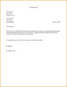 Letter Cancellation Exercise 28 Contract Cancellation Letter Exles Cancellation Letter La Fitness