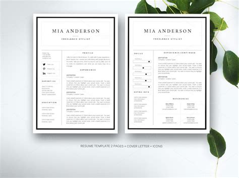 creative resume templates microsoft word creative r 233 sum 233 templates that you may find to
