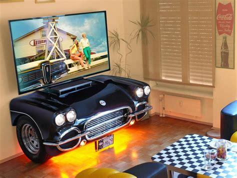 auto im wohnzimmer wohnzimmer im retro design