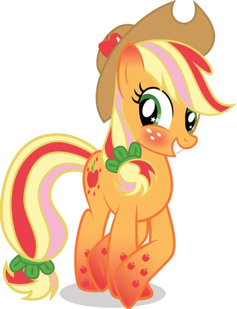 imagenes de applejack rainbow power applejack by benybing on deviantart