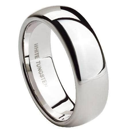 why do the men s tungsten wedding bands