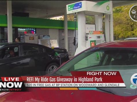 Free Gas Giveaway - free gas giveaway today in highland park wxyz com