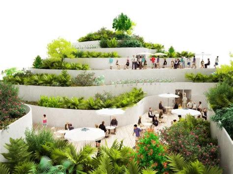Stepped Garden Design Ideas Week 09 Masterplanning Dab710 Design Xchange