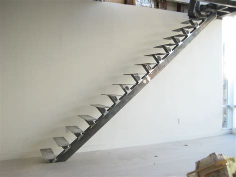 Steel Staircase Design Splendid Fabrication Staircase Design From Steel Materials Without Handrails For Decorate