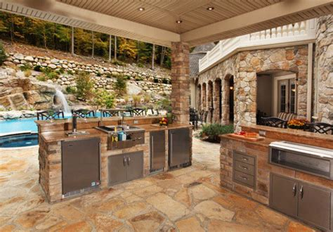 outside kitchens ideas 19 amazing outdoor kitchen design ideas style motivation