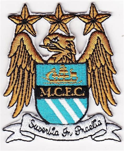 Patch Manchester City 1 manchester city city multicolor football team soccer