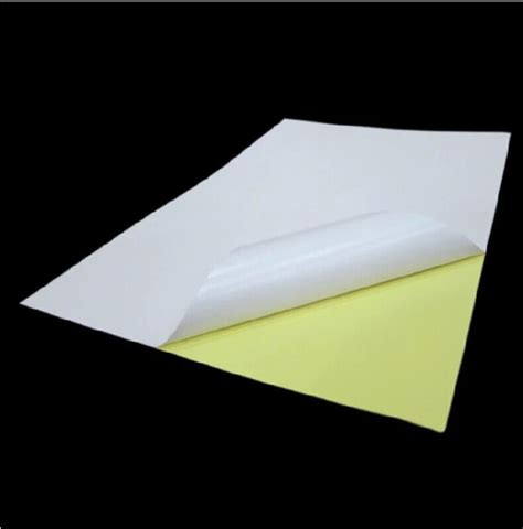 sticker printing paper a4 price aliexpress com buy 100sheets a4 glossy white sticker