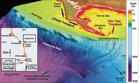 Sea Continental Shelf Summary by Sea Floor Sunday 9 Continental Slope Near Fraser Island