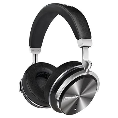bluedio t4 turbine active noise cancelling ear swiveling wireless bluetooth headphones