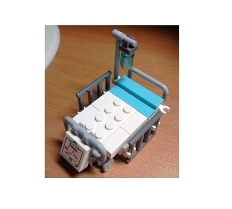 lego bed lego ideas making a hospital 2 patient s bed