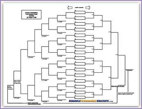 8 team bracket template 18 team elimination tournament bracket pictures to