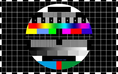hd test idea studio television and test patterns