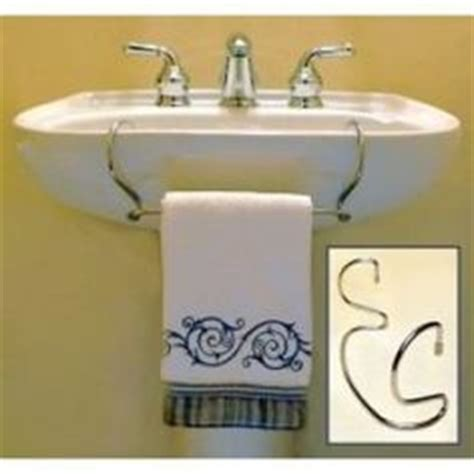 Pedestal Sink With Towel Rack by 1000 Images About Pedestal Sinks On Pedestal