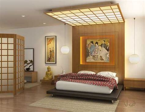 japanese bedroom asian interior decorating in japanese style