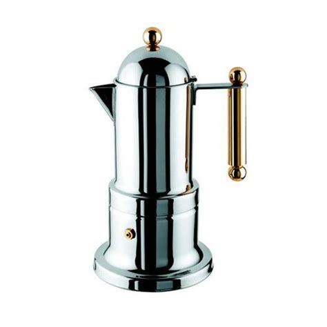Moka Pot 4 Cups Vev Vigano Stainless Quality cheap cup coffee makers vev vigano 8010 kontessa oro 12 cup coffee pot