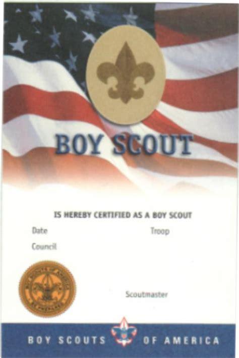 Cub Scout Advancement Card Templates by Ranks