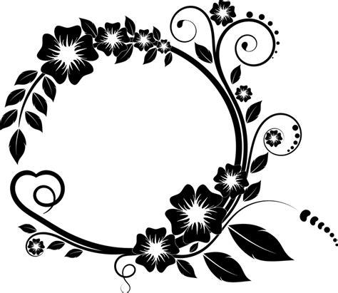 desain ornamen bunga desain inspirasi bingkai bunga bingkai bunga ros or