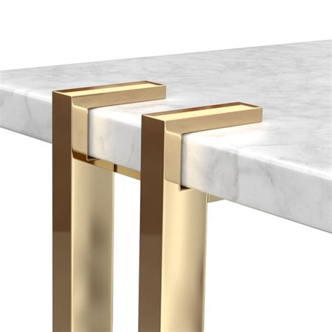 marble brass side table williams sonoma