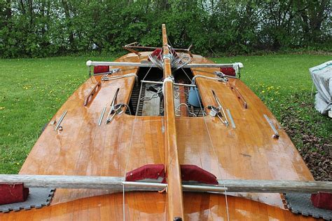 e scow racing port carling boats antique classic wooden boats for sale