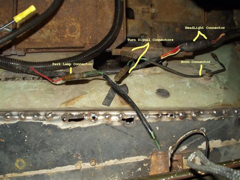 1972 Fj40 Wiring Harness Wiring Library