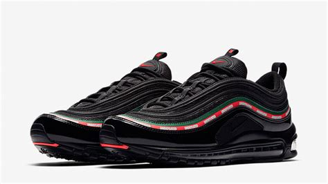 Undftd X Nike Air Max 97 Black undftd x nike air max 97 og black aj1986 001 the sole