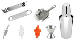 Bartender Accessories Bartending Supplies Pdf