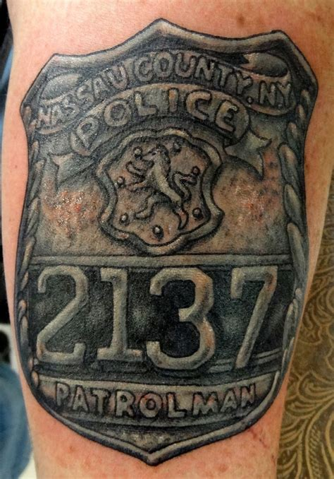 police badge tattoo designs badge tattoos cool tattoos