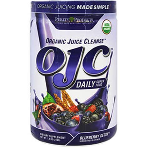 Aem Organic Detox Cosmetics by Ojc Organic Juice Cleanse Blueberry Detox 7 4 Oz 30