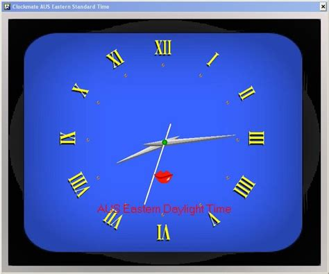 horloge de bureau windows horloge ecran de veille xp