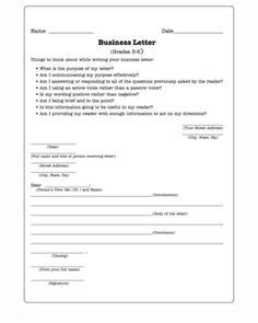 business letter writing exercises moving mountains free worksheet for