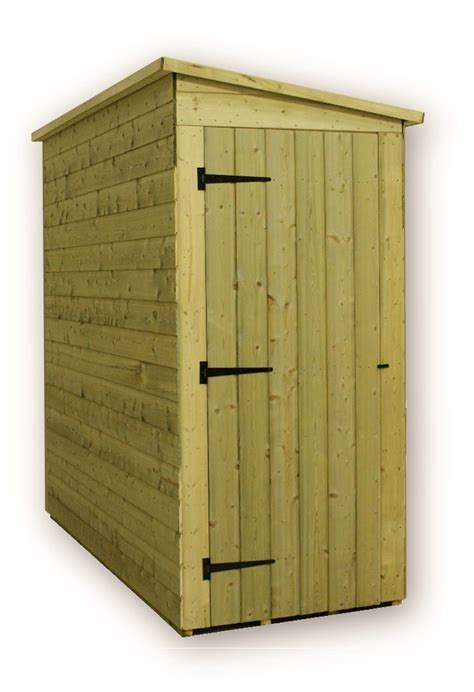3x7 Storage Shed by Shedswarehouse Aston 3ft X 5ft Windowless Pressure