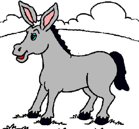 imagenes para colorear burro dibujo de potrillo pintado por burro en dibujos net el d 237 a
