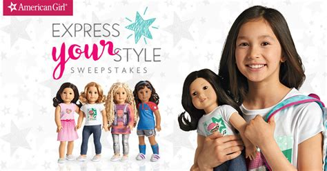 American Girl Sweepstakes - american girl express your style sweepstakes familysavings