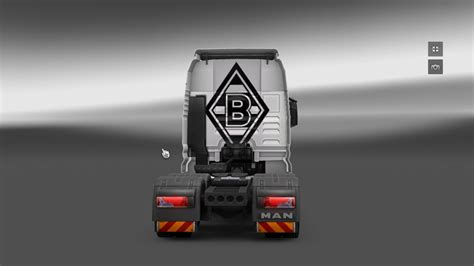 Lackierung Dortmund by Ets 2 Borussia Lackierung V 1 8 2 5 Man Mod F 252 R Eurotruck
