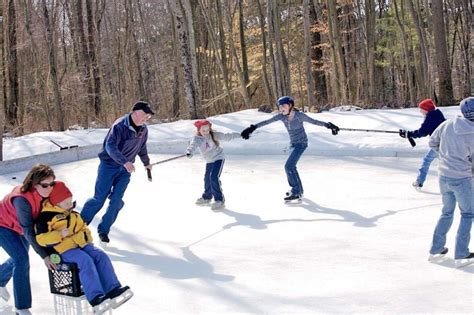 how to build a ice rink in your backyard how to build an ice rink 8 tips new england today