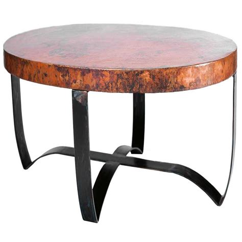 copper top tables copper top coffee table coffee table design ideas