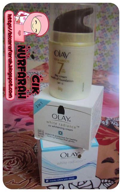 Produk Kosmetik Olay apa produk kecantikan yang korang gunakan cik nurfarah