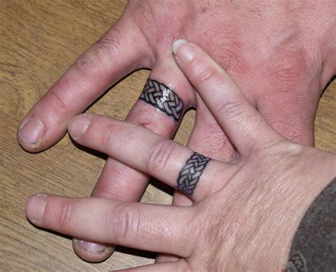 celtic wedding band tattoo designs wedding ring ideas popular ideas