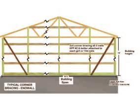 40x60 pole barn plans 40x60 pole barn