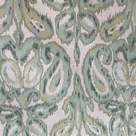ikat upholstery fabric m10007 ikat mint upholstery fabric by barrow merrimac