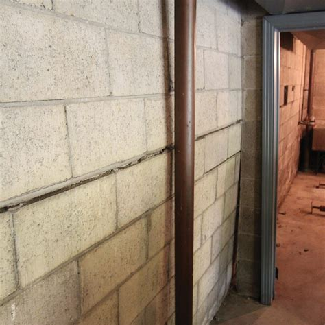 Bowing Basement Walls A1 Concrete Leveling Basement Wall Solutions