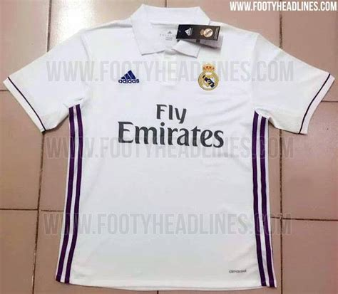new real madrid kit 2016 2017 has real madrid s 2016 2017 home kit been leaked