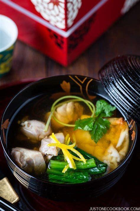 new year mochi recipe ozoni お雑煮 japanese new year mochi soup kanto style