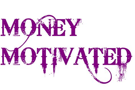 money motivated tattoo in bleeding cowboys font 281