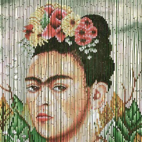 frida kahlo beaded curtain 17 best ideas about bamboo curtains on pinterest
