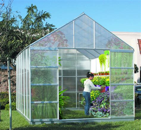 greenhouse layout electronic city garden greenhouse 10 ft x 12 ft greenhouse with 4 vents