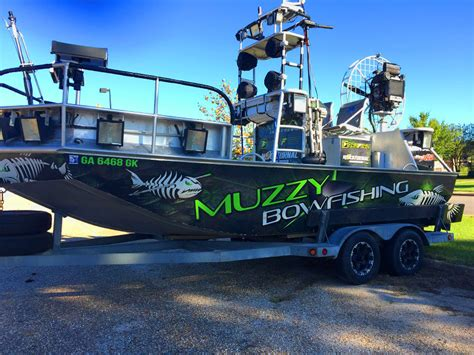 ams bowfishing boat lights bowfishing fever getting hotter every year